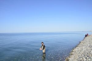 С нахлыстом в Черном море
