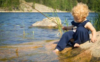 Рыбалка с ребенком