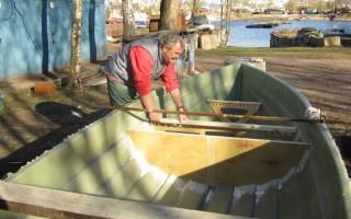 Рождение лодки для рыбалки «Рыбачок mini»