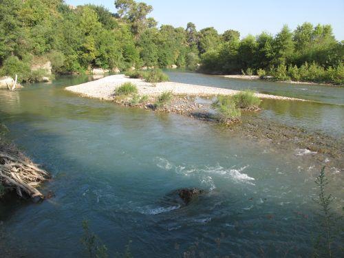 Турецкая река Алара в августе
