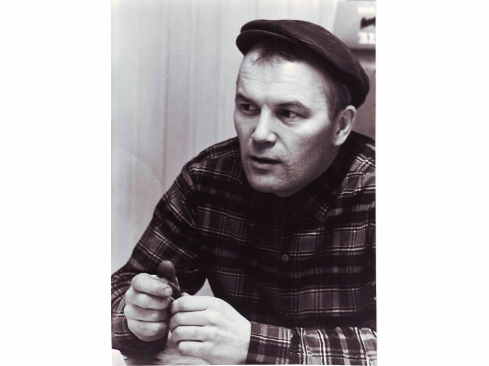 Основатель «Куусамо» Пааво Корпуа в начале деятельности
