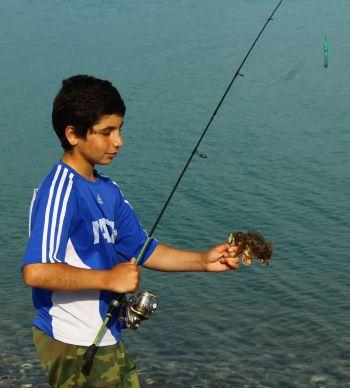 Со скорпеной в руках - Руслан Сабуа, повысивший спортивный разряд