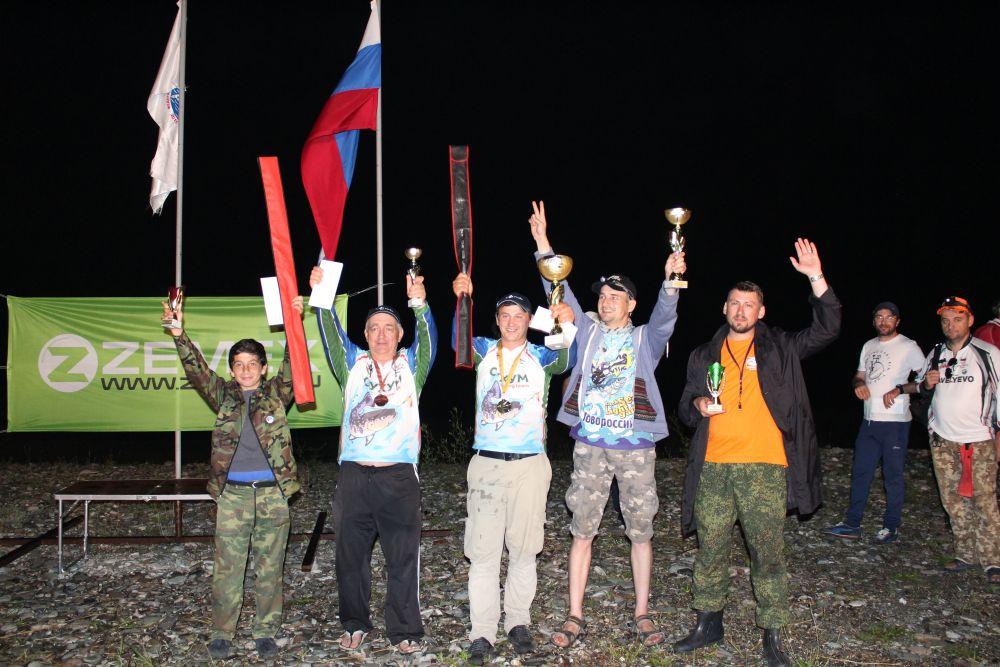 Победители и призеры Чемпионата РА по рок-фишингу