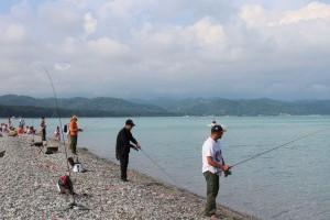 Рок-фишинг в Абхазии
