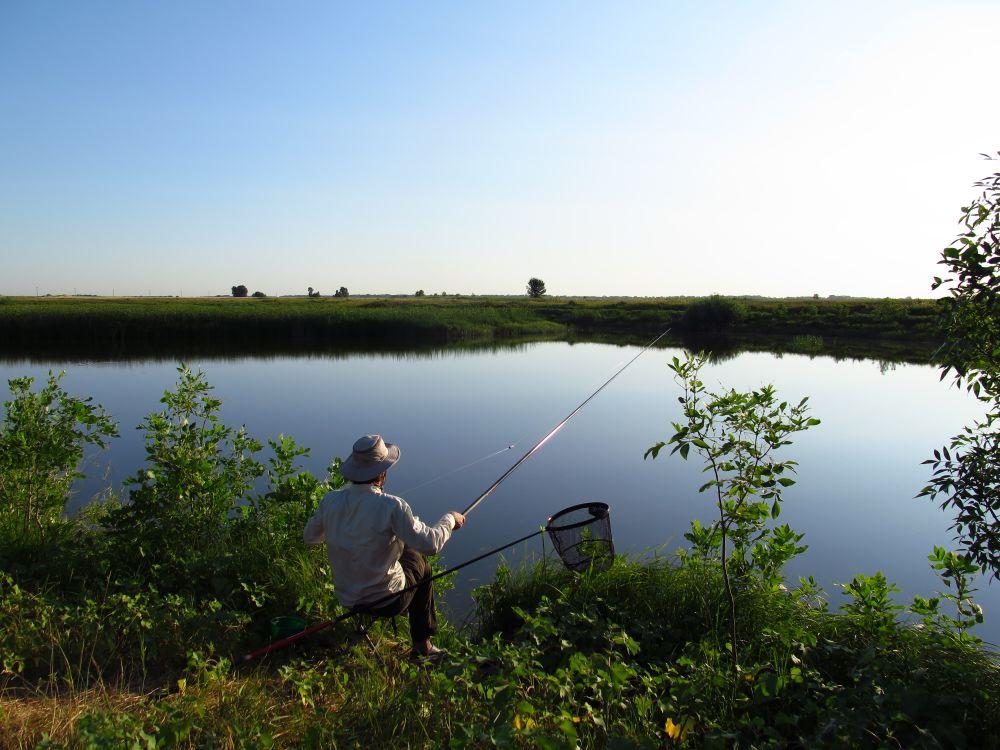 На других озерах с7-метровой длины может и не хватить, а тут – вполне