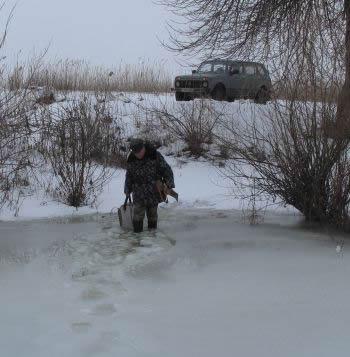 Важно быть готовым к такому заходу на лед