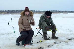 Минога, скумбрия или креветка? На что ловят корюха в Архангельской области
