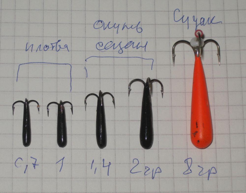 Опыт показывает, что для сазана оптимальный разлет крючков должен быть где-то 1 см