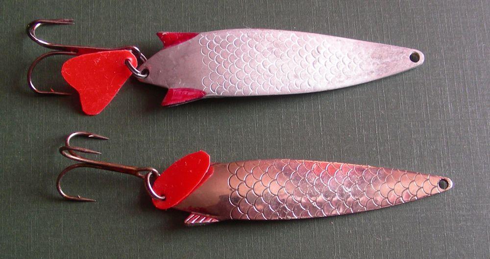 «Тоби» и его реплика: лососевые блёсны, ловящие у нас еще и щуку, судака, окуня и жереха