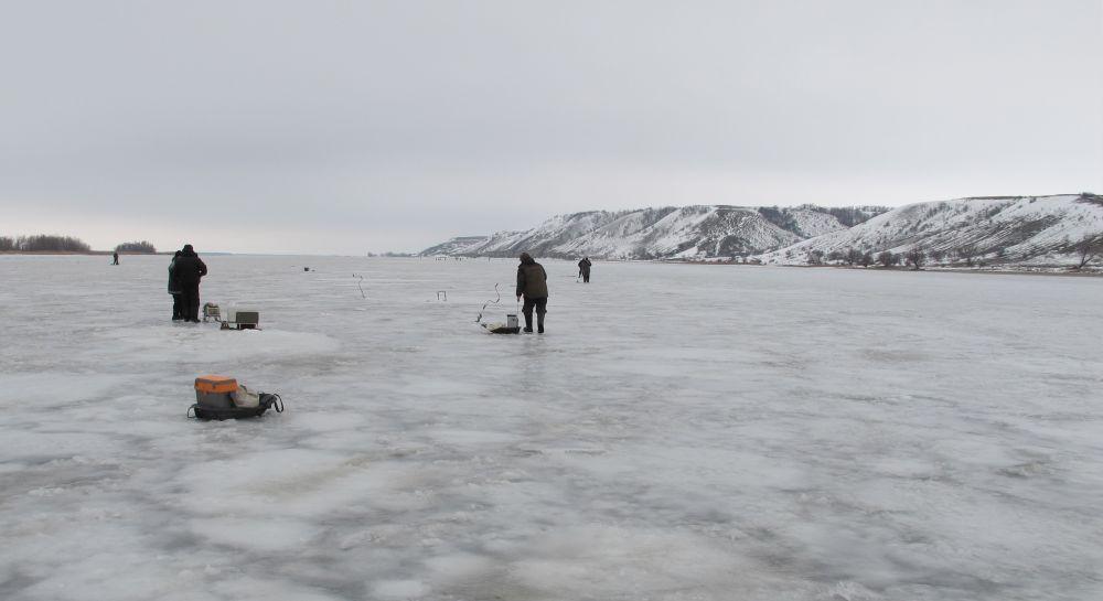 Правый берег Дона зимой красив и могуч!