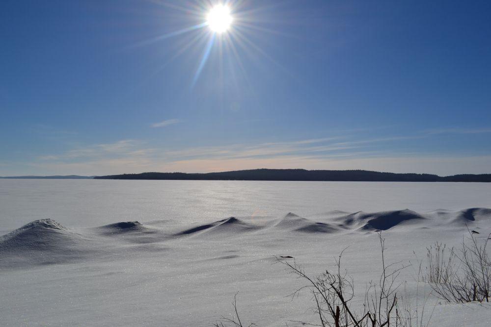 Завораживающий вид на озеро