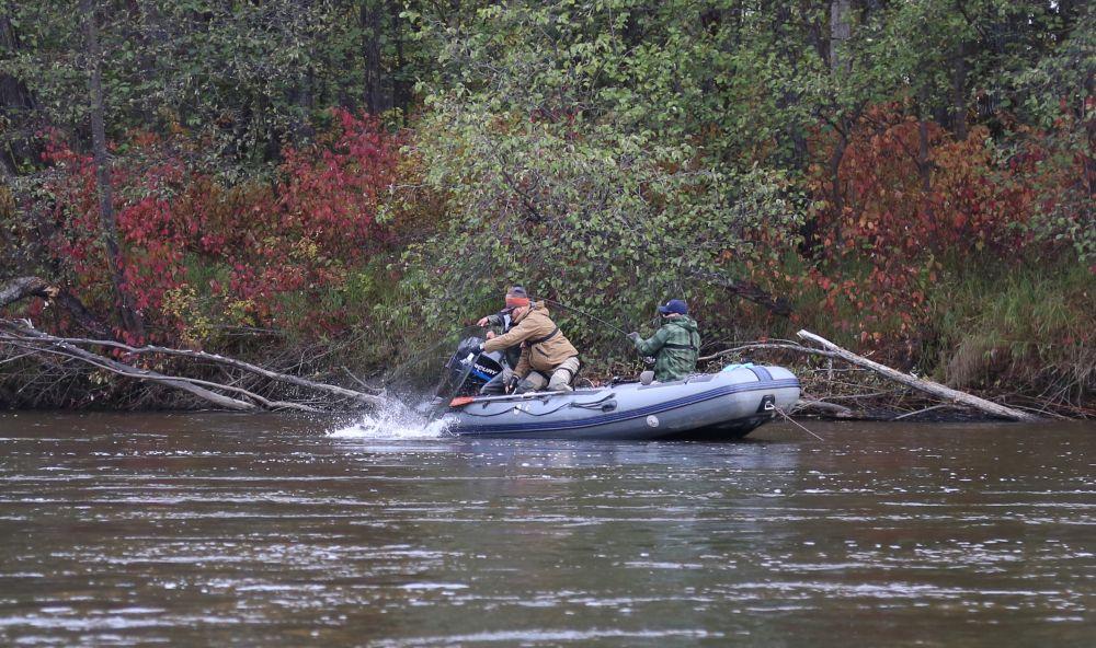 Каждая рыбалка – это командная работа