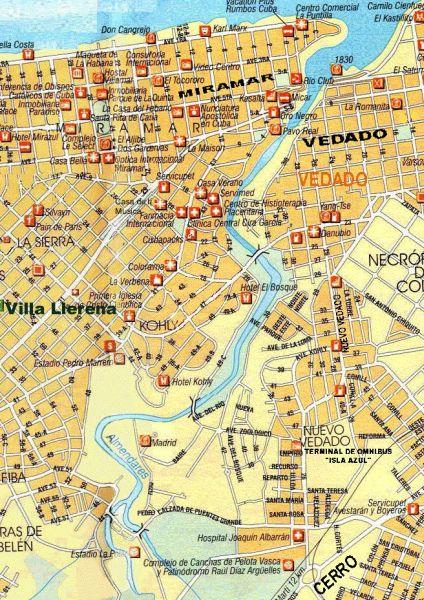Альмендарес течёт по центру Гаваны