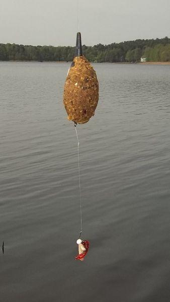 Методная кормушка - для ловли поверх подводной растительности