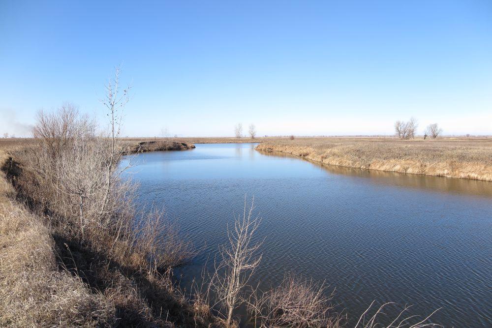 Правый берег имеет вогнутую бровку - и облавливать её вдоль можно, перейдя на тот берег