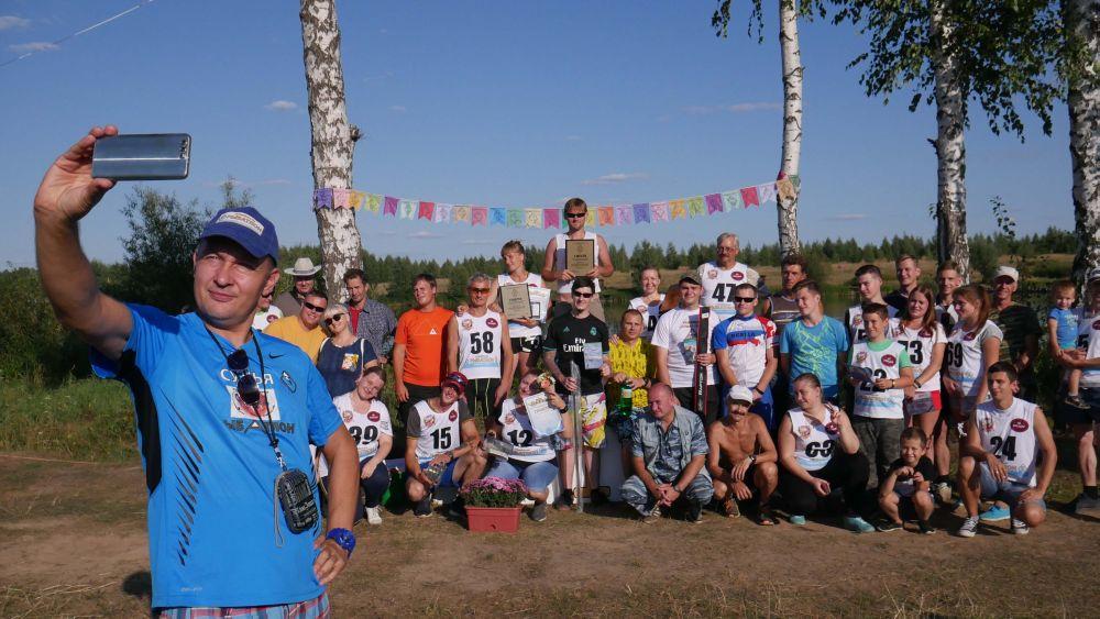 Дмитрий Беляев, селфи с победителями