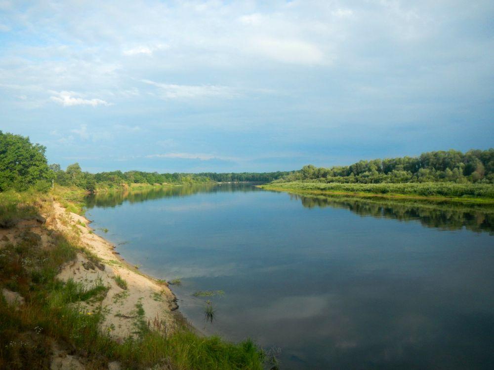 Берега моей реки безлюдны и девственно чисты