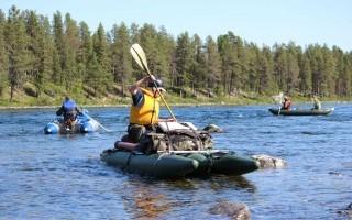 Сплавом по Северной Швеции
