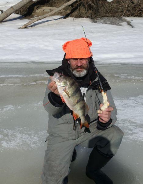 Хорошо проявил себя на сибирской рыбалке прототип удочки «Хапуга»