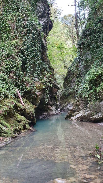 Сказочно красивые места обязательно встретятся на кавказских реках