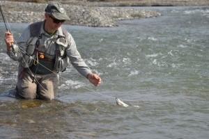 Как в кавказских реках подбирать ключик к форели