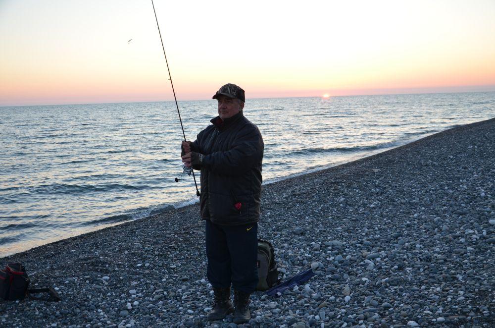 На закате ставрида подходит охотиться к самому  берегу
