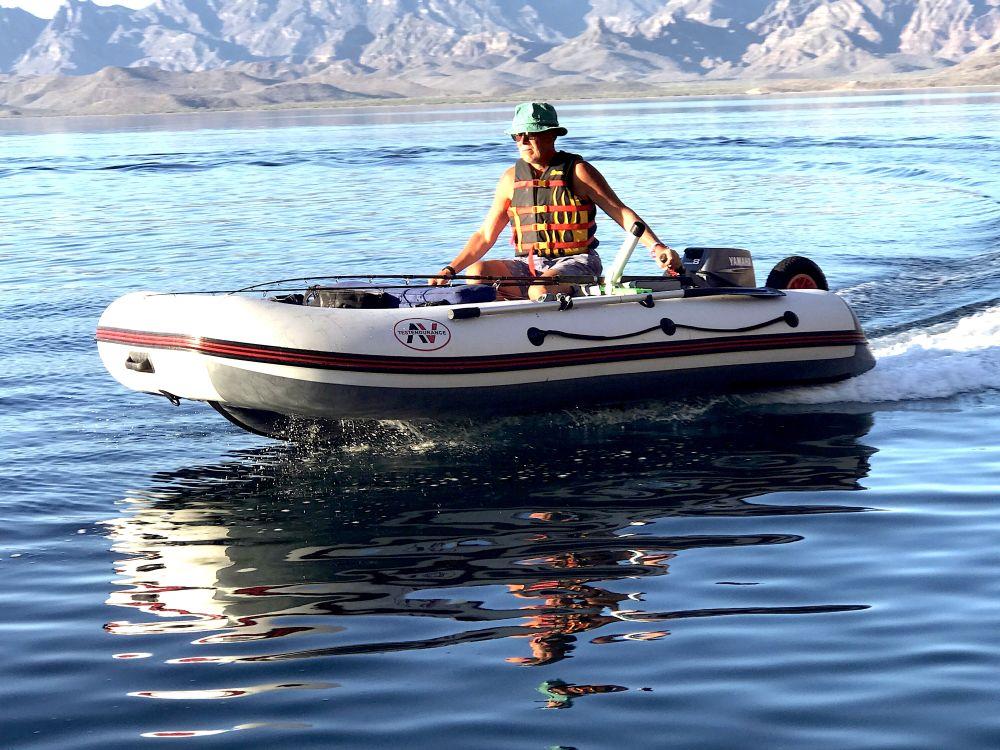 Вот на таких лодочках я уже четверть века и ловлю хищника в Калифорнийском заливе