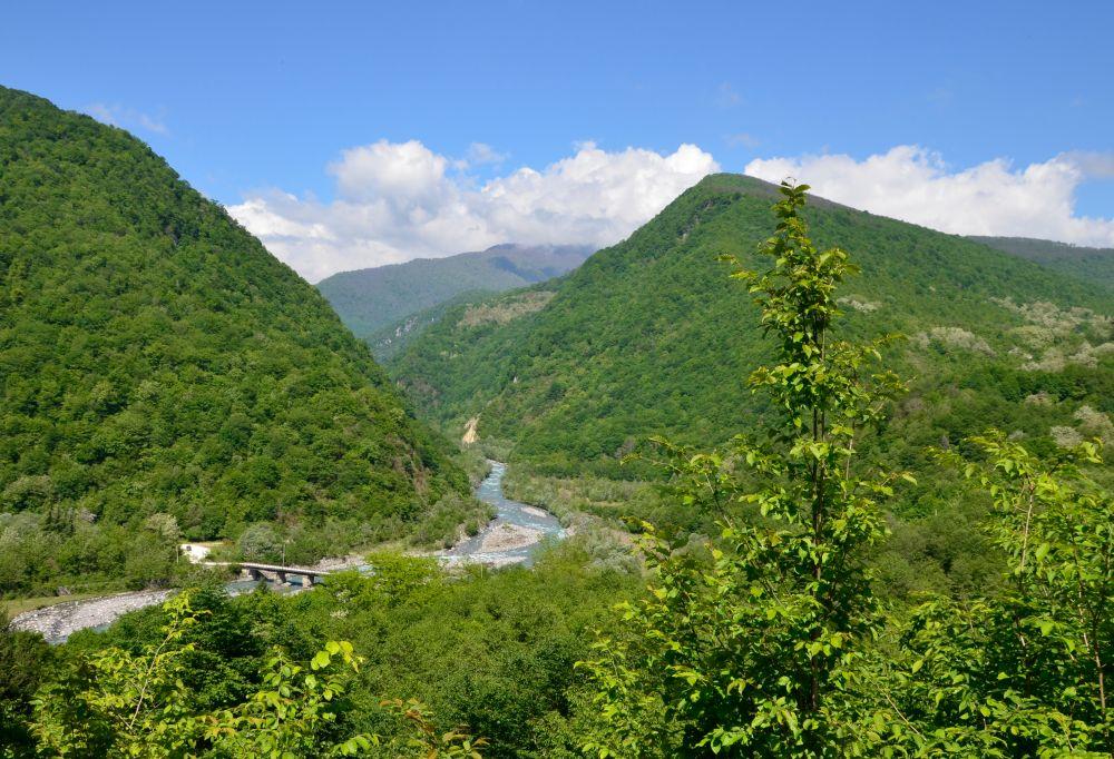 Только в Абхазии увидишь такие замечательные пейзажи