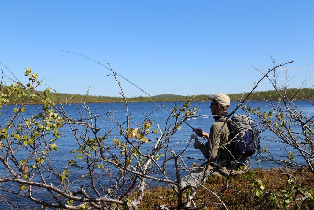 Выйдя к озеру, сперва обловите перспективные места вблизи вас