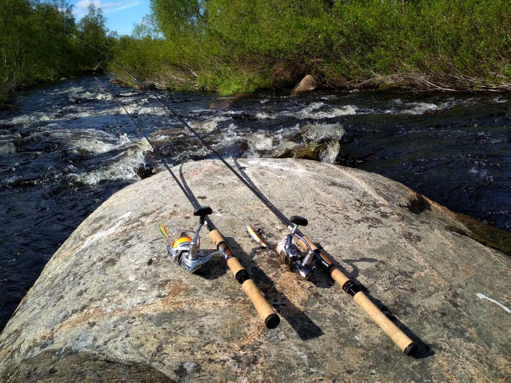 Предпочитаю спиннинги с запасом по мощности для лучшего контроля над рыбой
