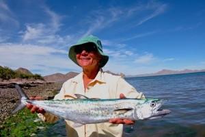 За что женщина полюбила рыбалку
