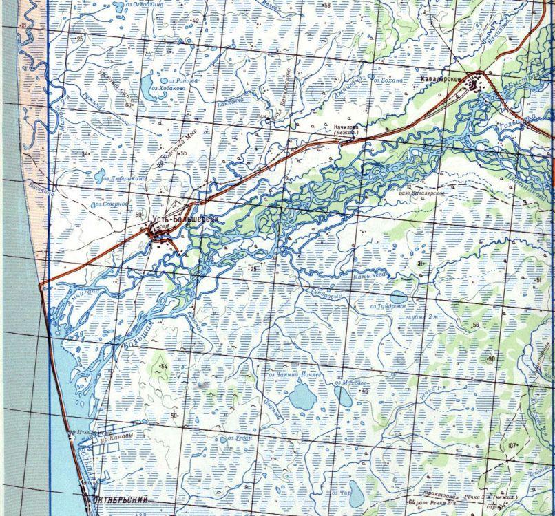 На реке Большой расположено основное количество рыболовных баз