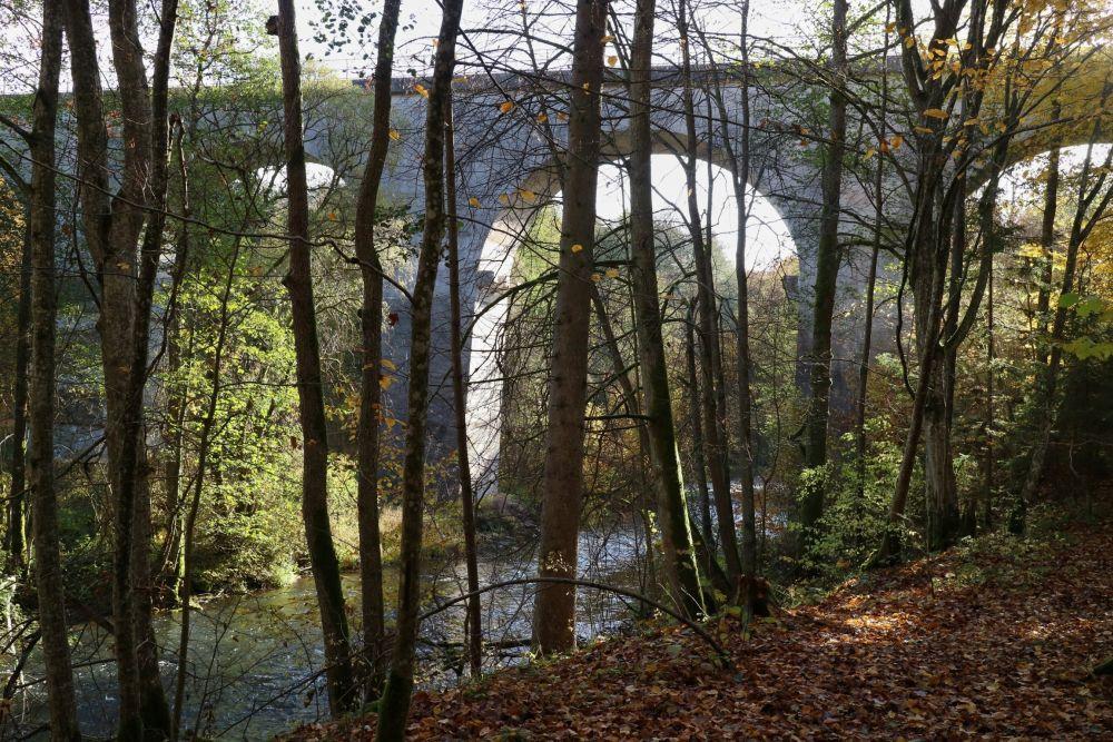 Еще одно наследие Восточной Пруссии – железнодорожный мост