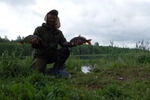Матч с весенней рыбой