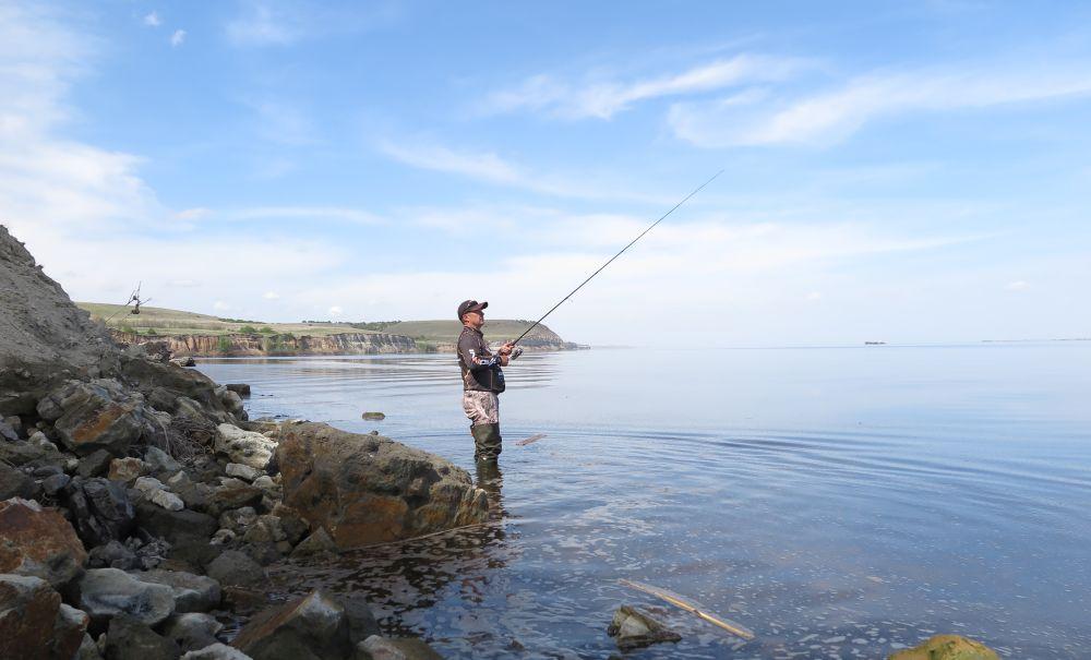 Новое место, первая рыбалка