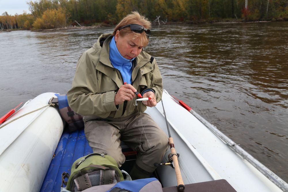 Цвет приманок можно изменить фломастером прямо на рыбалке