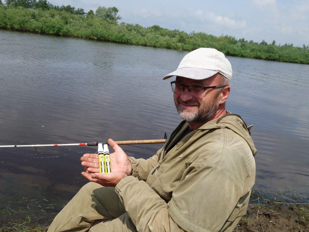 На рыбалке у меня всегда с собой пара-тройка классических запахов