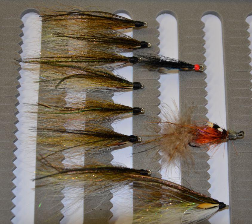 Рабочие «мушки» для ловли кумжи в устьях и приливной зоне