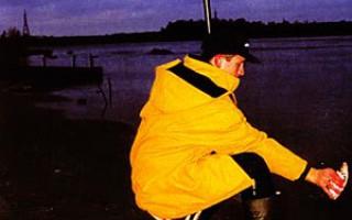 Вываживание рыбы глухой оснасткой