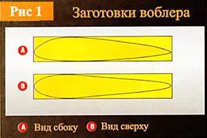 Воблер - своими руками: рекомендации профессионала