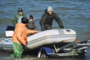 Ловля трески на Балтийском море