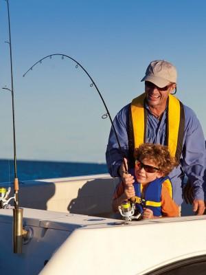 Семьей на рыбалку